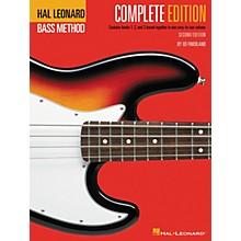 Hal Leonard Electric Bass Method Composite Book Pack