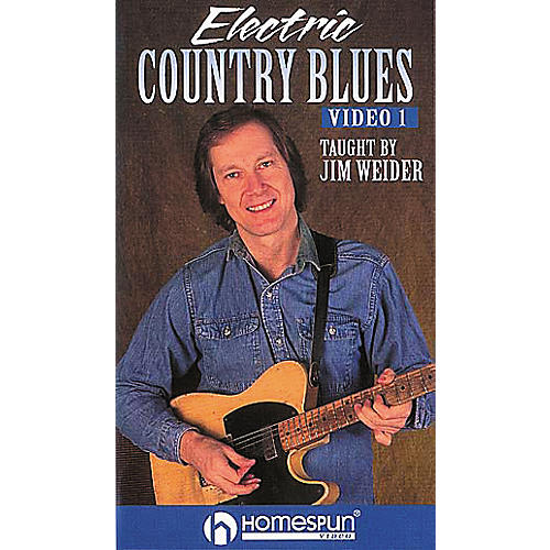 Homespun Electric Country Blues 1 (VHS)