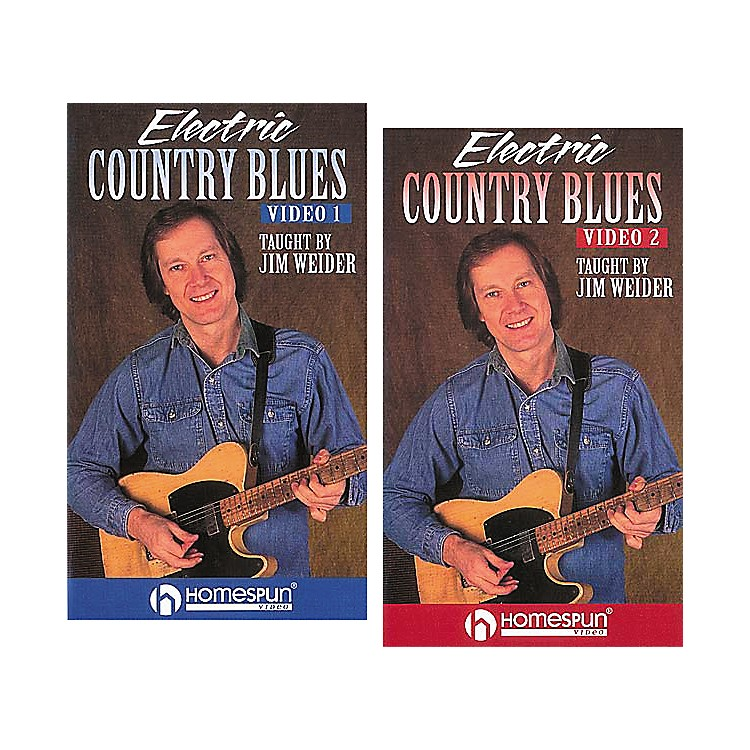 Homespun Electric Country Blues 2-Video Set (VHS)