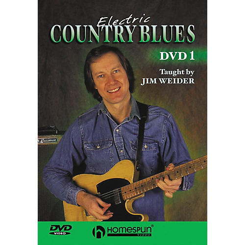 Homespun Electric Country Blues DVD 1-thumbnail