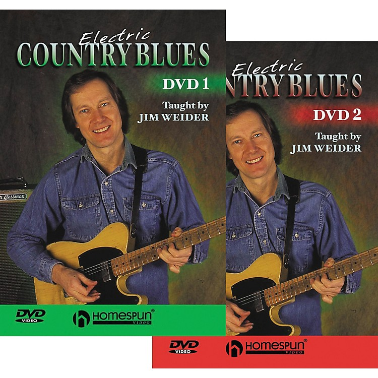 Homespun Electric Country Blues DVD Set
