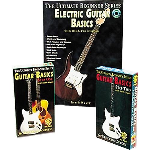 Alfred Electric Guitar Basics Mega Pak Video/Book/CD
