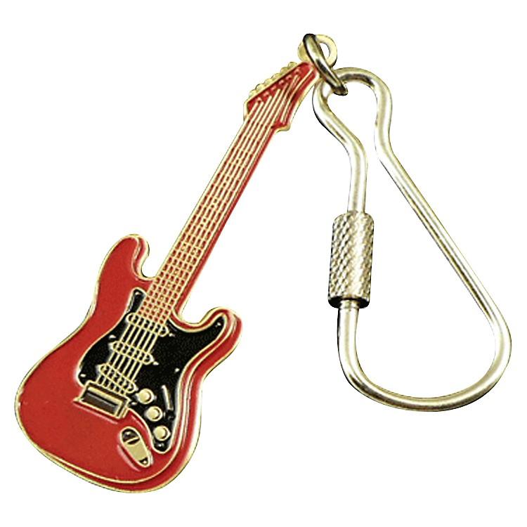 AIMElectric Guitar KeychainRed