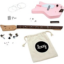 Loog Guitars Electric Guitar Kit Level 1 Pink