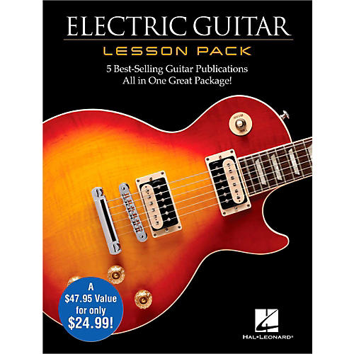 Hal Leonard Electric Guitar Lesson Pack - Boxed Set with Four Books & One DVD-thumbnail