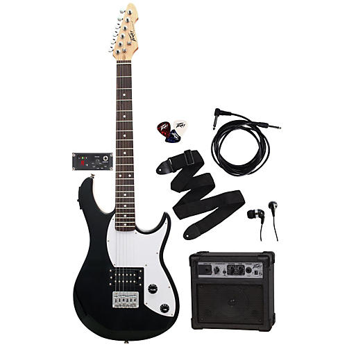 peavey electric guitar pack rockmaster 5 in 1 with gt5 amp musician 39 s friend. Black Bedroom Furniture Sets. Home Design Ideas