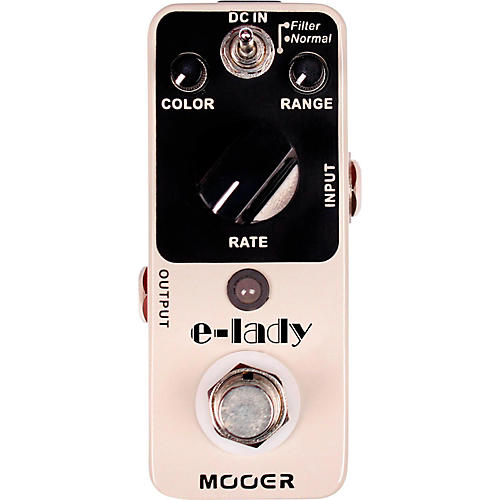 Mooer Electric Lady Analog Flanger Guitar Effects Pedal-thumbnail