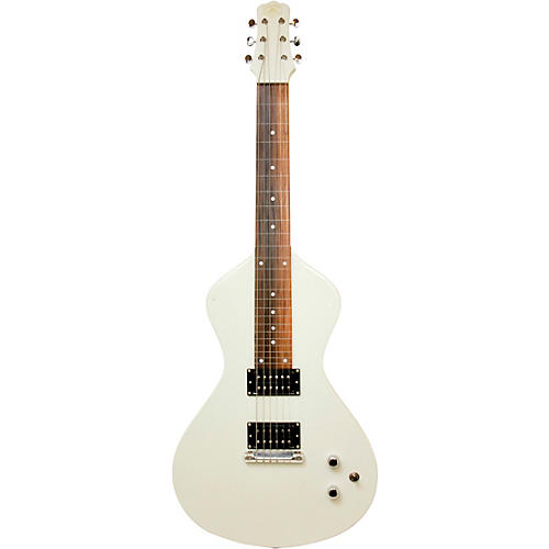 Asher Guitars & Lap Steels Electro Hawaiian Junior Lap Steel Guitar Antique White