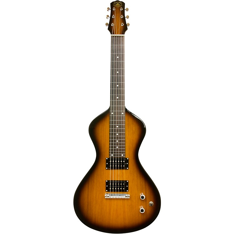 Asher Guitars & Lap Steels Electro Hawaiian Junior Lap Steel Guitar Tobacco Burst
