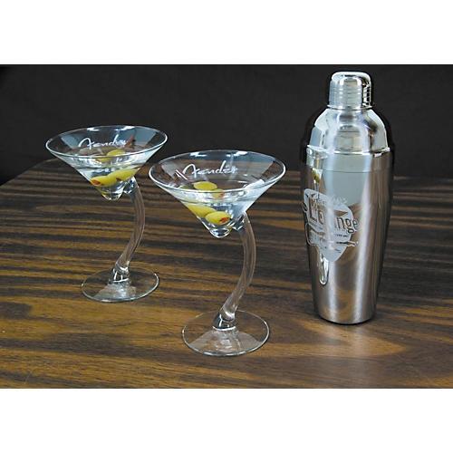 Fender Electro Lounge Martini Set