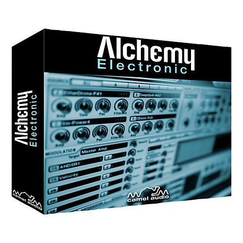 Camel Audio Electronic Alchemy - Synth & Expansion Pack Bundle Software Download