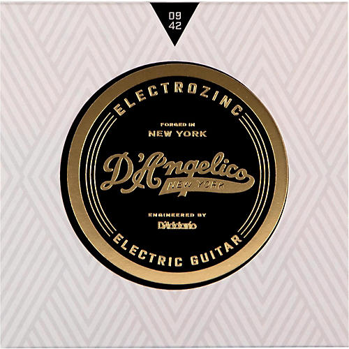 D'Angelico Electrozinc Rock 9-42 Extra Light Electric Guitar Strings-thumbnail