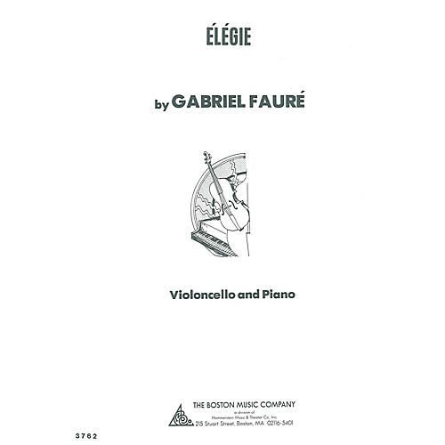 Boston Music Elegie (for Cello and Piano) Music Sales America Series-thumbnail