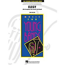 Hal Leonard Elegy - Young Concert Band Level 3 composed by John Wasson