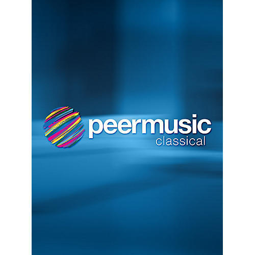 Peer Music Elegy (String Quartet Parts) Peermusic Classical Series Softcover Composed by Elliott Carter