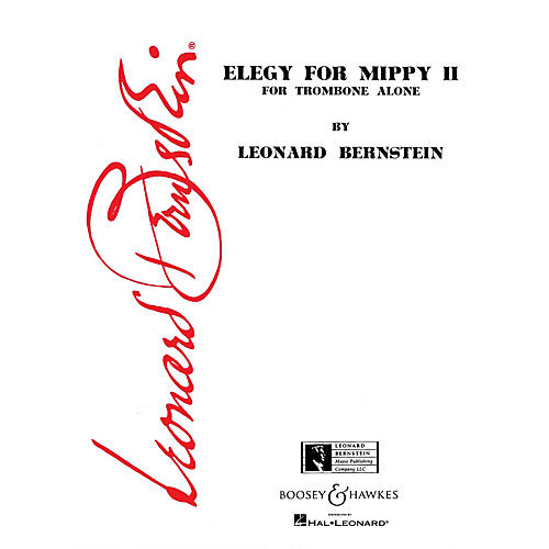 Boosey and Hawkes Elegy for Mippy II (for Trombone Alone) Boosey & Hawkes Chamber Music Series by Leonard Bernstein-thumbnail