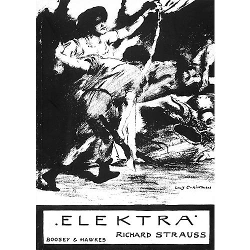Boosey and Hawkes Elektra, Op. 58 (Tragedy in One Act) BH Stage Works Series  by Richard Strauss-thumbnail