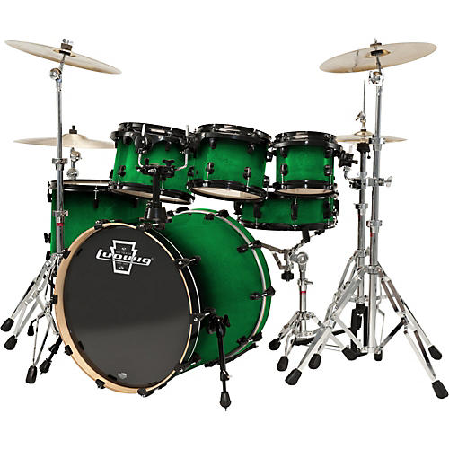 Ludwig Element Lacquer 6-Piece Fusion Shell Pack