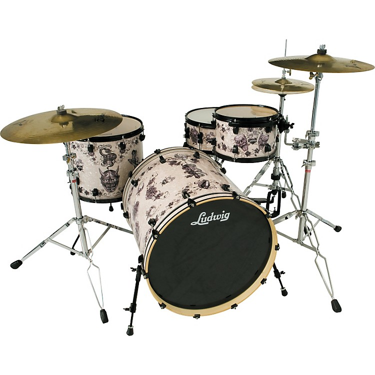 LudwigElement Series 4-piece Corey Miller Shell Pack