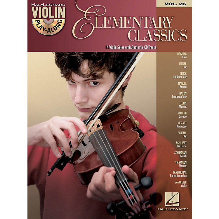 Hal Leonard Elementary Classics - Violin Play-Along Volume 26 Book/CD