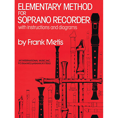 Criterion Elementary Method for Soprano Recorder Criterion Series Softcover Written by Frank Metis-thumbnail