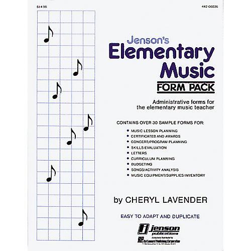 Hal Leonard Elementary Music form Pack-thumbnail