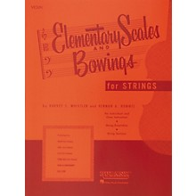 Hal Leonard Elementary Scales And Bowings for Strings for Violin