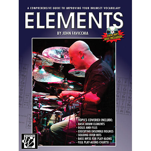 Alfred Elements Drum Set Book & CD