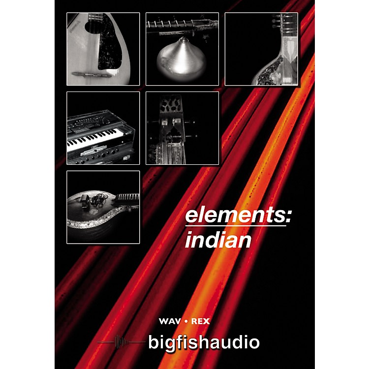 Big Fish Elements: Indian Audio Loops