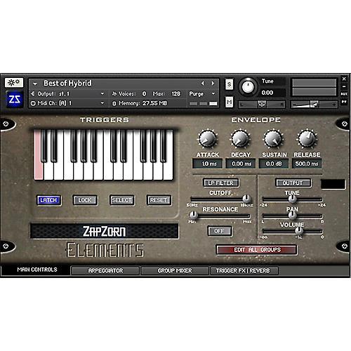 ZapZorn Elements Sound Design Software Download-thumbnail