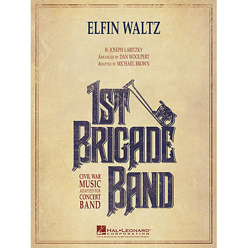 Hal Leonard Elfin Waltz Concert Band Level 3-4 Arranged by Dan Woolpert