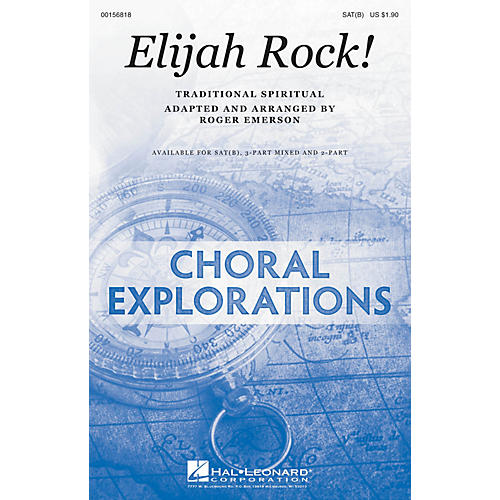 Hal Leonard Elijah Rock! SAT(B) arranged by Roger Emerson-thumbnail