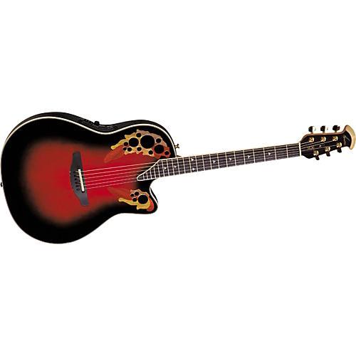 Ovation Elite LX Deep Contour Acoustic-Electric Guitar-thumbnail