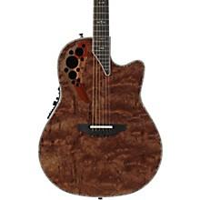 Ovation Elite Plus Series C2078AXP Waterfall Bubinga Acoustic-Electric Guitar