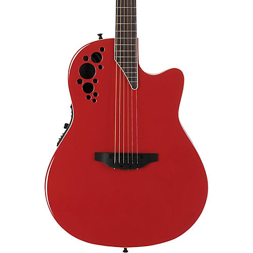 Ovation Elite Series 1868TX Shallow Acoustic-Electric Guitar-thumbnail