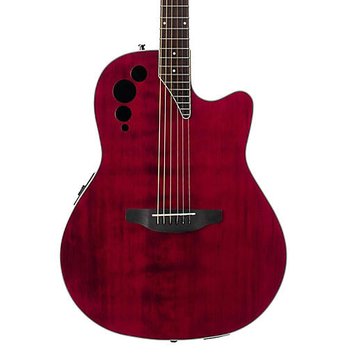 Applause Elite Series AE44II Acoustic-Electric Guitar Ruby Red