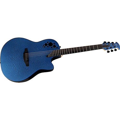 Ovation Elite T Blue Rain Drop Acoustic-Electric Guitar
