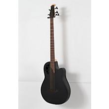 Ovation Elite TX Mid Depth Acoustic-Electric Bass Level 3 Black 190839136138