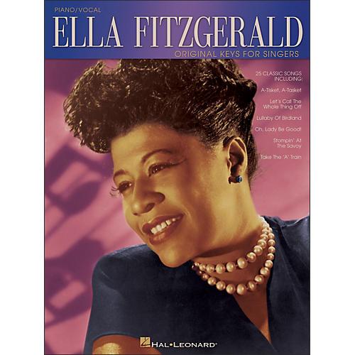 Hal Leonard Ella Fitzgerald - Original Keys for Singers (Vocal / Piano)-thumbnail