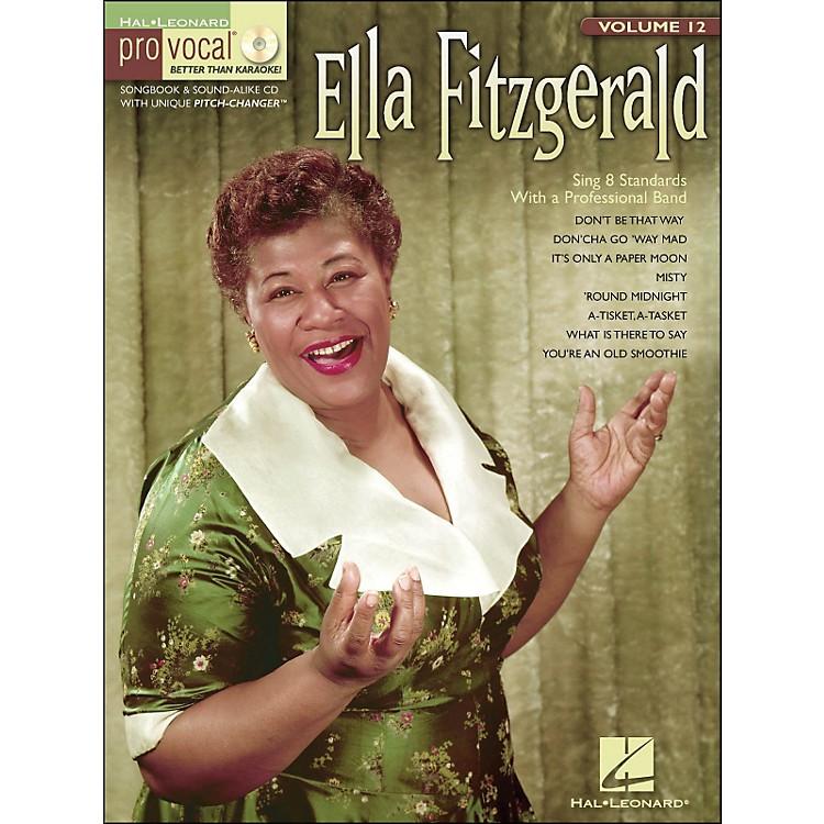 Hal LeonardElla Fitzgerald Pro Vocal Songbook & CD for Female Singers Volume 12