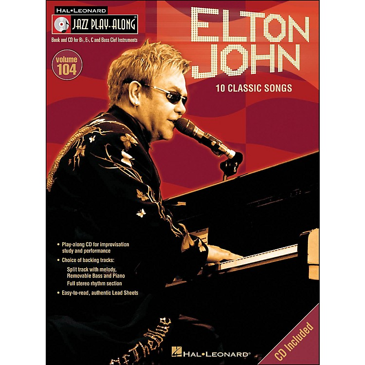 Hal Leonard Elton John - Jazz Play-Along Volume 104 (CD/Pkg)