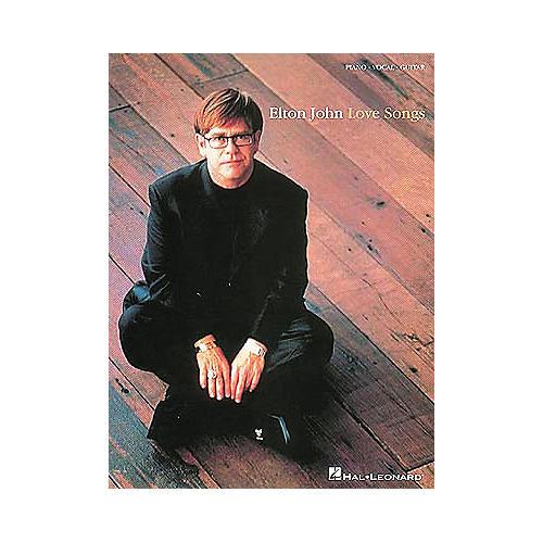 Hal Leonard Elton John - Love Songs Piano, Vocal, Guitar Songbook-thumbnail