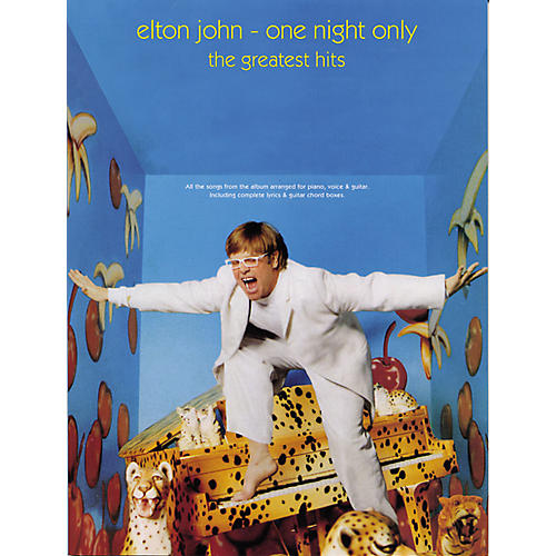 Alfred Elton John - One Night Only Book