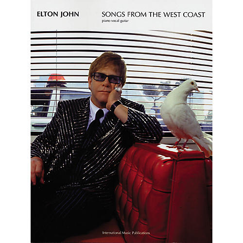 Alfred Elton John - Songs from the West Coast Book-thumbnail