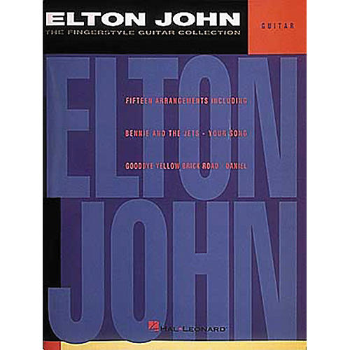 Hal Leonard Elton John - The Fingerstyle Collection Guitar Tab Songbook