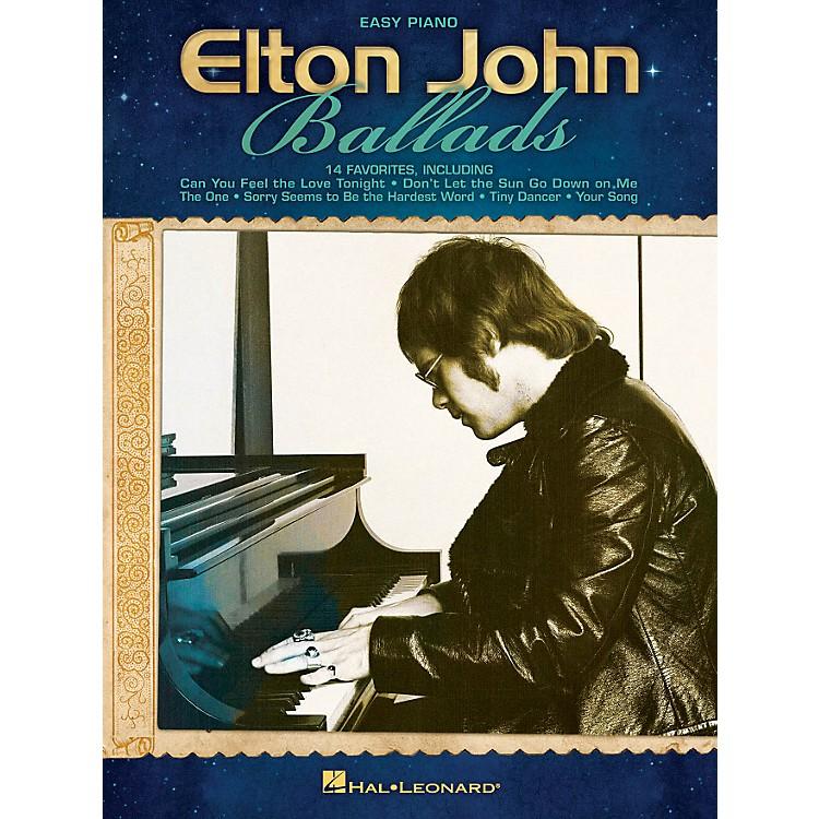 Hal LeonardElton John Ballads For Easy Piano