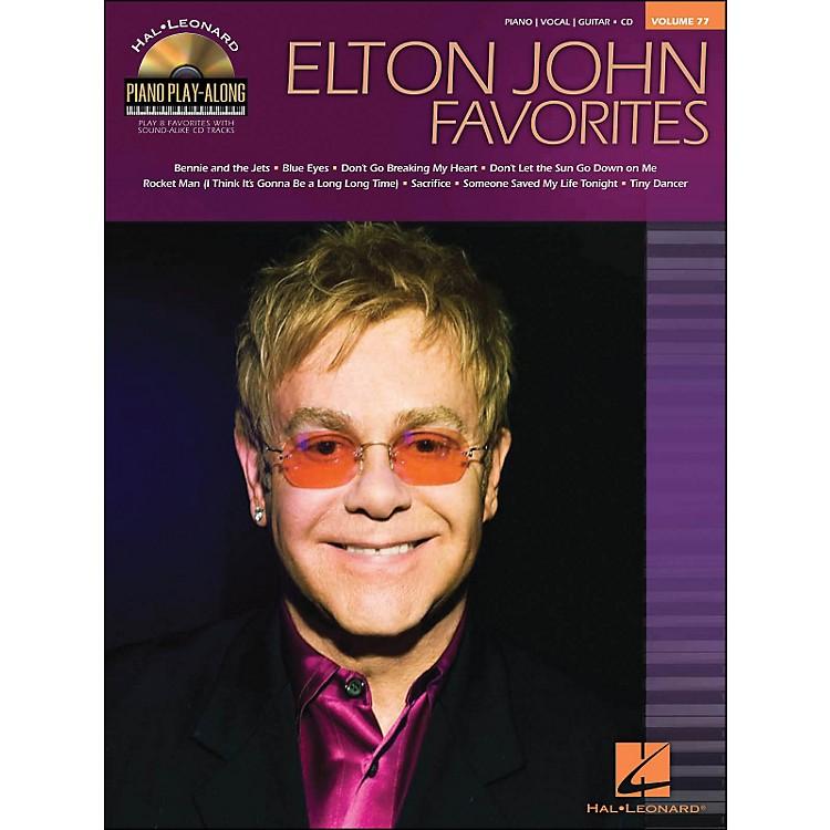 Hal LeonardElton John Favorites - Piano Play-Along Volume 77 (CD/Pkg) arranged for piano, vocal, and guitar (P/V/G)