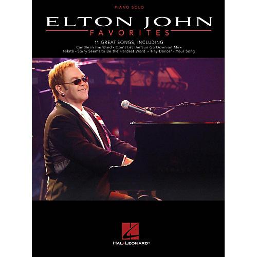 Hal Leonard Elton John Favorites - Piano Solo-thumbnail