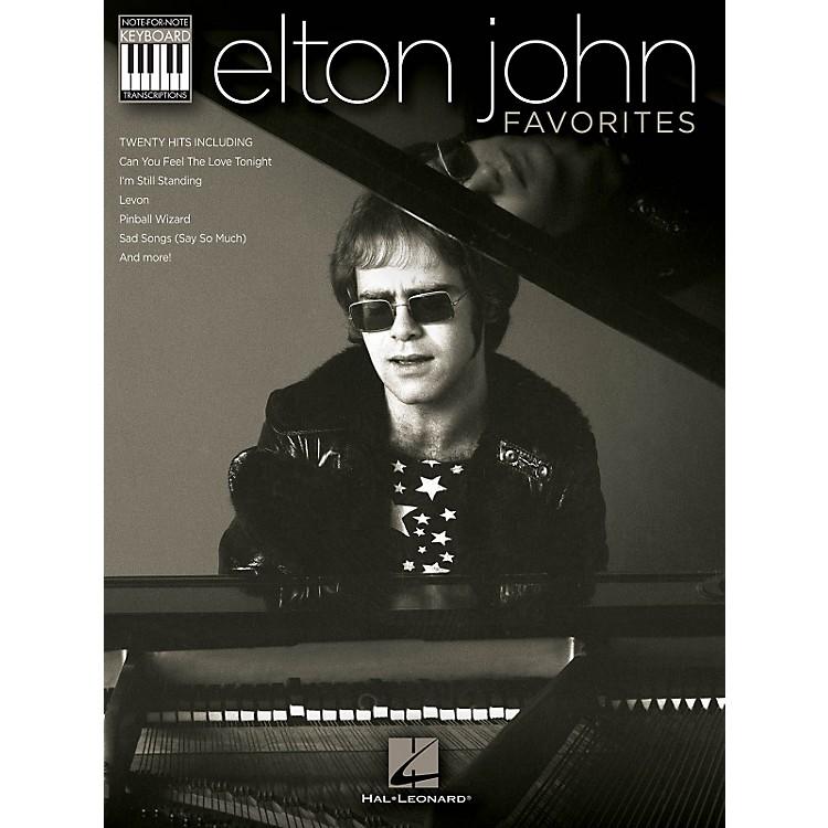 Hal LeonardElton John Favorites Keyboard Book - Note-For-Note Keyboard Transcriptions