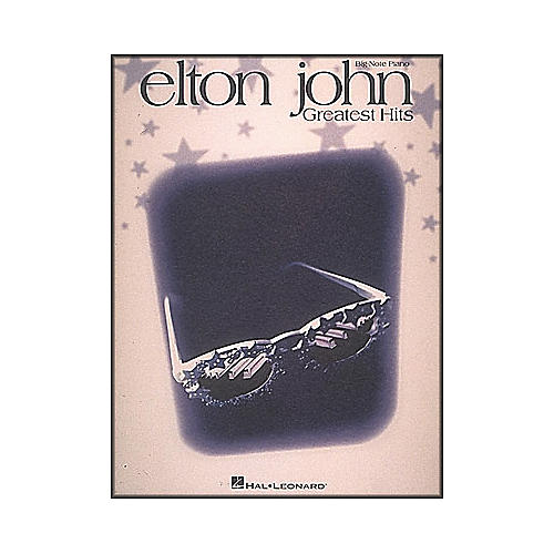 Hal Leonard Elton John Greatest Hits for Big Note Piano